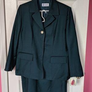 Pura Lana Vergine NWT Italian Vintage 2 pc suit 52